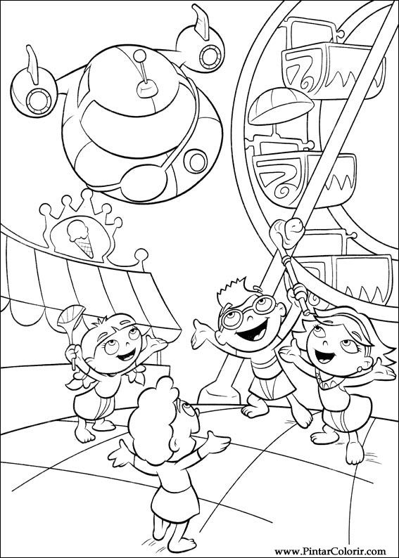 Excepcional Little Einsteins Para Colorear Bosquejo - Ideas Para ...