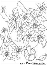 Pintar e Colorir Miss Spider - Desenho 004