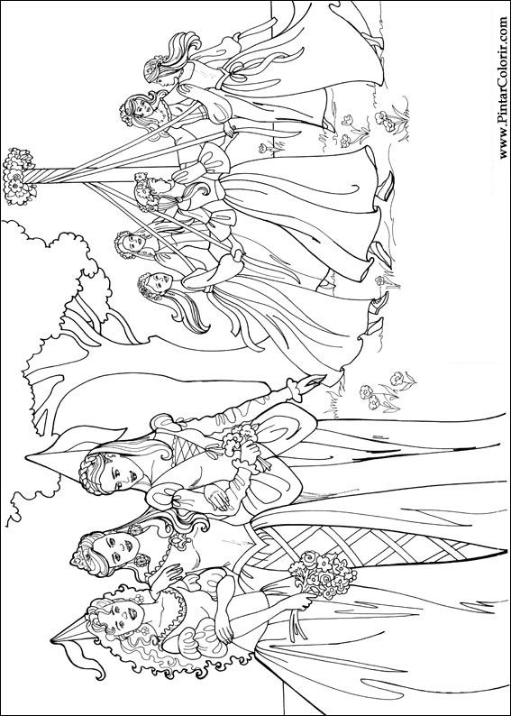 Princess Coloring Pages In Even More Styles Princess Leonora